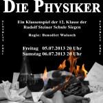 Die Physiker Plakat Homepage