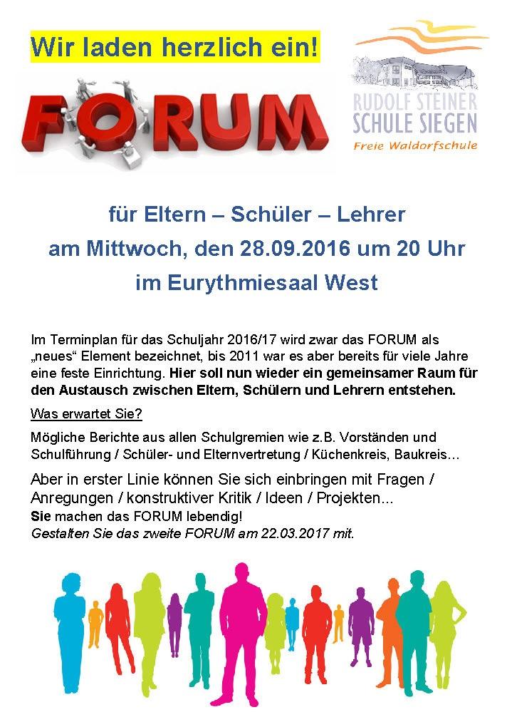 Forum 3 Plakat